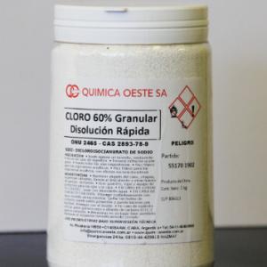 CLORO 60% Granular DIS/RAPIDA