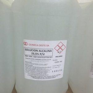 SOLUCION ALCALINA 24% P/V bidox10LTS