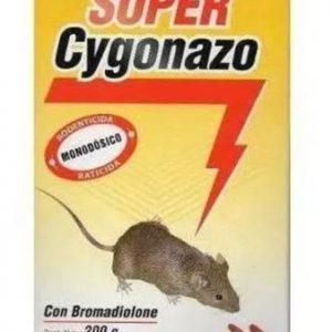 CYGONAZO RATICIDA CEBO x 200 Gr